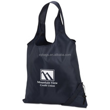 foldable shopping tote / 210D polyester tote bag / foldaway tote bag