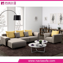 Lastest design Living room furniture modern Cloth italian luxury sofa