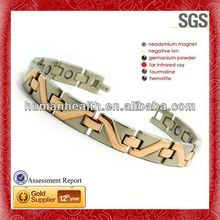 Wholesale steel bracelet,clay pave bead bracelet