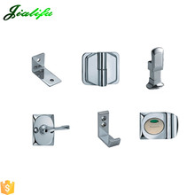 compact toilet partition silver 38 series fitting accessories