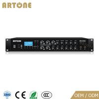 80w 120w 180w 240w 5 zone 4 audio sources mixer pa power amplifiers for sale
