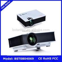 UC40 Mini Projector,NO.198 500 ansi lumens brightest dlp projector