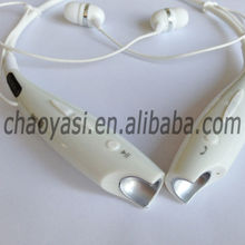 The perfect timbre Bluetooth Headphones/in ear headphones HBS730,flexible nack strap with memory function ,new 2014