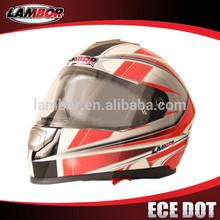 casco de la motocicleta casco de la cara