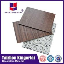 b1 grade fireproof aluminum construction material for wooden doors design