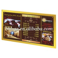 """32"""" inch Wall Mounted LCD digital advertising screen tv multimedia player electronic signs indoor restaurant signage LCD banner"""