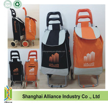 600D Polyester Folding Shopping Trolley Bag / Shopping Trolley / Shopping Cart