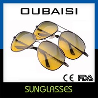 Taizhou Oubaisi Metal Frame Day Night TAC Polarized Glasses No.Y103