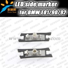 Top Sale 12v Smoked Side Marker Lamp Without M Logo For BMW E81/E82/E87/E88/E90/E91/E92/E60/E61