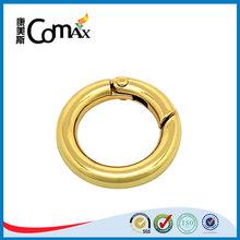 Gold round jump ring metal split rings