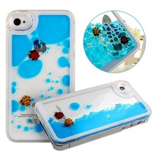 For iphone 6/6pluse/5s/5/4s/4 hard plastic cell phone case with floating fish and duck
