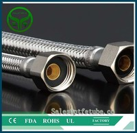 Textile Covered Stainless Steel Braided PTFE Hose