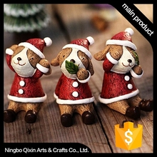 2015 Promotional Resin Animal for Christmas