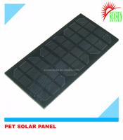 Epoxy PET mini solar panel 12v
