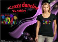 Animation HOT selling Custom ladies/kids/,men el t-shirt(wholesale&high quality)