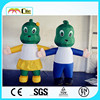 CILE2015 inflatable green dragon cartoon model