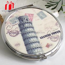 Paris Effiel Tower Travel Souvenirs Handy-size Mirror