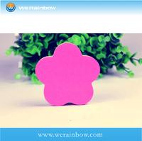 customized school flower shaped sticky note