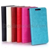 High Quality Crazy Horse Wallet Magnetic Flip Stand Leather PC+PU Cover for HTC Butterfly 2