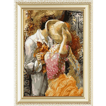 2015 Wall art menglei abstract oil painting by numbers