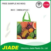 Non woven bag with shiny liner/eco silk print non woven bag/non woven bag pp non woven bag