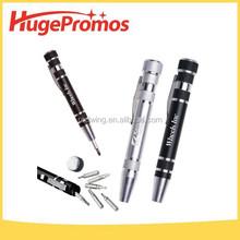 Professional Customized Aluminum Pen-Style Screwdrivers