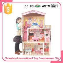 Plastic Type Doll Accessories and Wooden Type Plastic Doll House
