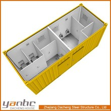 economical CE&ISO standard sandwich panel mobile toilet container for sale