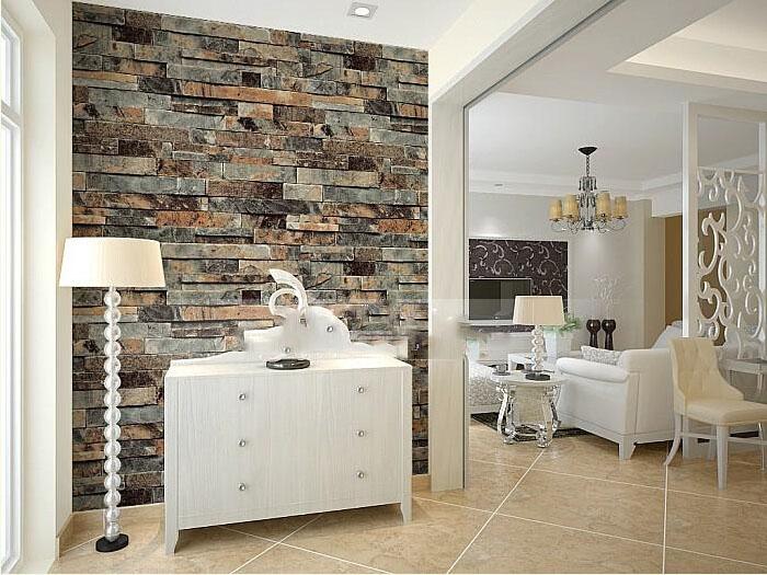 Brilliant Modern Stone Brick 3D Wallpaper Dining Room Kitchen Bathroom Office Background Wall Wallpaper Emboss Waterproof Vinyl Wallpaper Download Free Architecture Designs Ogrambritishbridgeorg