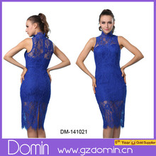 2015 Promotional Tight Elegant Lace Prom Dress