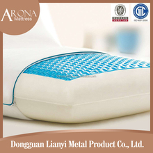 2015 new boudoir compressed adults medicated gel memory foam pillow