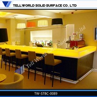Resin Panel Bar Furniture Used Hotel Lobby Furniture