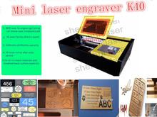 SHENHUI factory dc k40 laser engraving for stamp/crafts /cell phone/beer cup DIY supply / PVC skype:liu.cnlaser