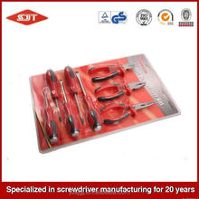 Low price durable in use magnetic complete hand tools set