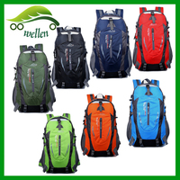 New leisure tourism hidden compartment outdoor sports1080D nylon travel rucksack bag backpack