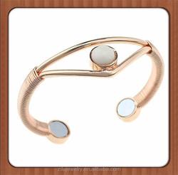 wholesale super strong copper bio megnetic healing bracelet ,magnetic copper bangles for ladies