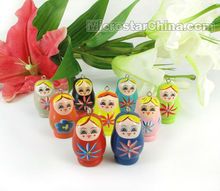 Wooden Babushka Matryoshka Russian Doll