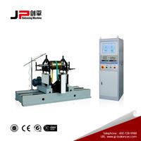Dynamic balancing instrument with AC and DC motor