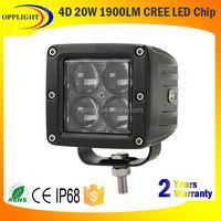 White LED Work Light cre e20w Led Boat Light 12V cre eLed Work Light for Marine
