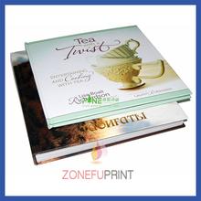 Customized Art Paper Book Full Color Printing silk cover book printing