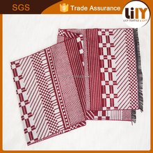china manufacture new fashion pashmina men's scarf