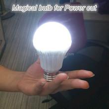 New E27 5W LED Rechargeable Emergency White Light Flashlight Magic Bulb lamp