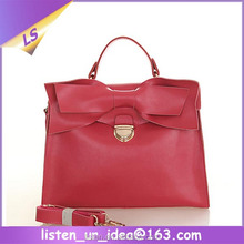 China Fashion Real Cow Leather Women Handbag For Sale