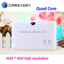 High quality 7 inch tablet cheap price big sound, Special design 7 inch quad core tablet custom made