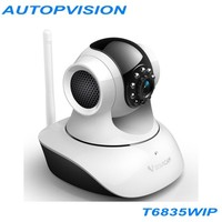 Wireless P2P Plug and Play IR-Cut Night Vision Pan/Tilt Two Way Audio Vstarcam T6835 IP Camera
