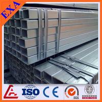 schedule 40 square and rectangular steel pipe/galvanized square pipe /square tube