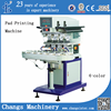 Pneumatic pad printing machine for pen/USB disc/golfball