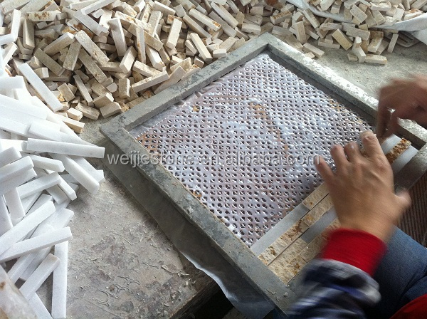 Natural Stone Wall Tile Mosaic Interior Decoration Design
