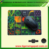 custom rubber cloth mouse pads,heat transfer mouse pad