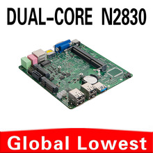 Support Full-Screen Movies And 2D Games Mini Itx Computer Mini PC board All In One PC X30 -N2830 4G RAM 1TB